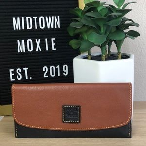 Brown & Black leather wallet